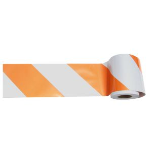 Avery Dennison Pre-Striped Barricade Sheeting Unrolled