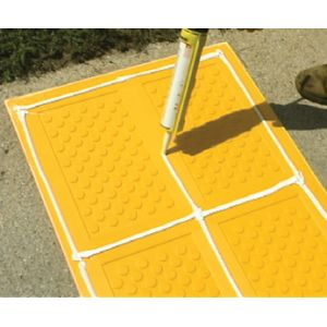 ADA Solutions  Surface Mount Composite Tactile Installation