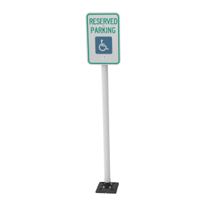 """Impact Recovery Systems Sta-Rite 78"""" Sign Post Without Bollard Main Image"""
