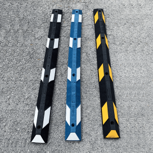 NoTrax Safety 6' Recycled Rubber Car Stop