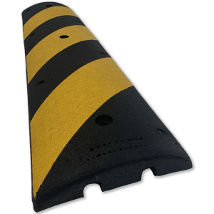 NoTrax® 4' EasyRider Recycled Rubber Speed Bump Angle