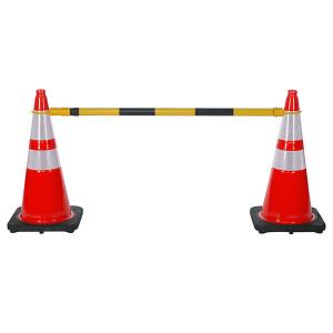 JBC Safety Plastic Retractable Cone-Bar on Traffic Cones