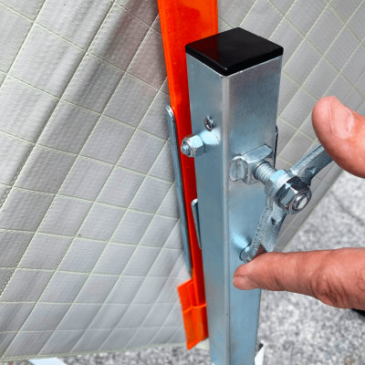 Dicke Safety Products UF2000 - Compact Sign Stand Screw Lock